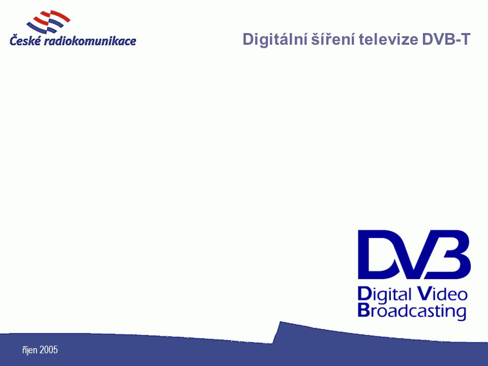 Digitální šíření televize DVB-T