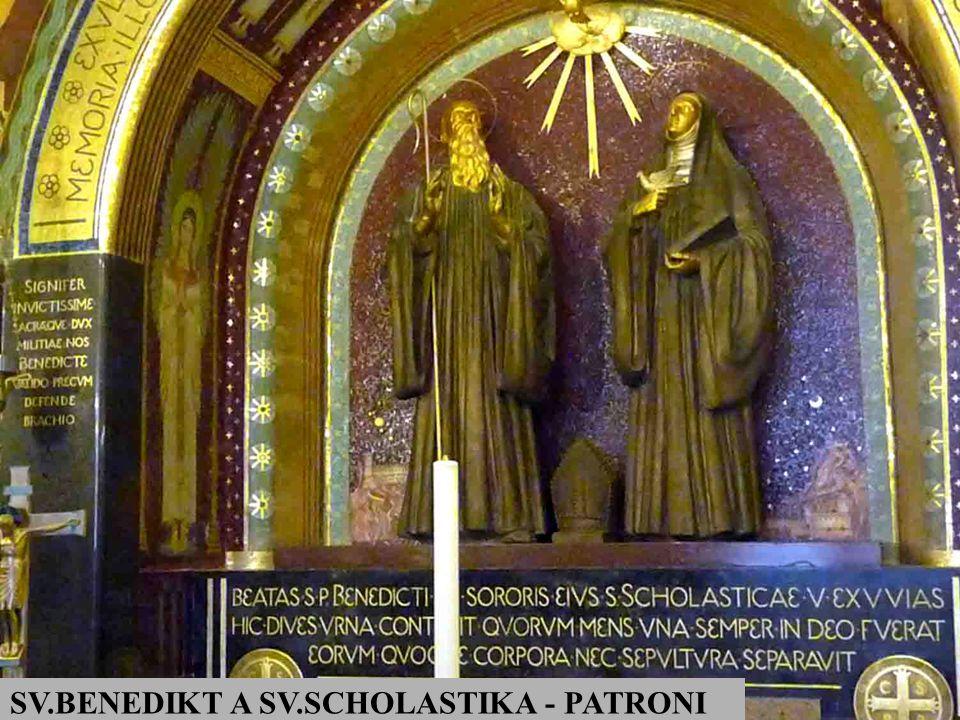 SV.BENEDIKT A SV.SCHOLASTIKA - PATRONI