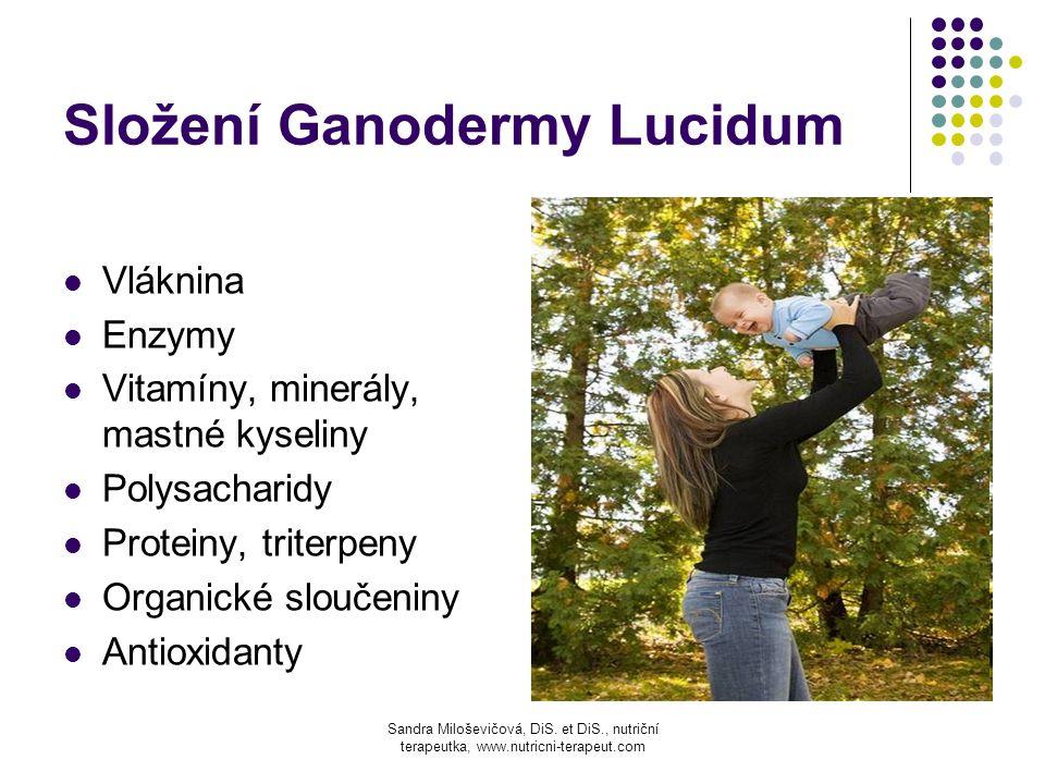 Složení Ganodermy Lucidum