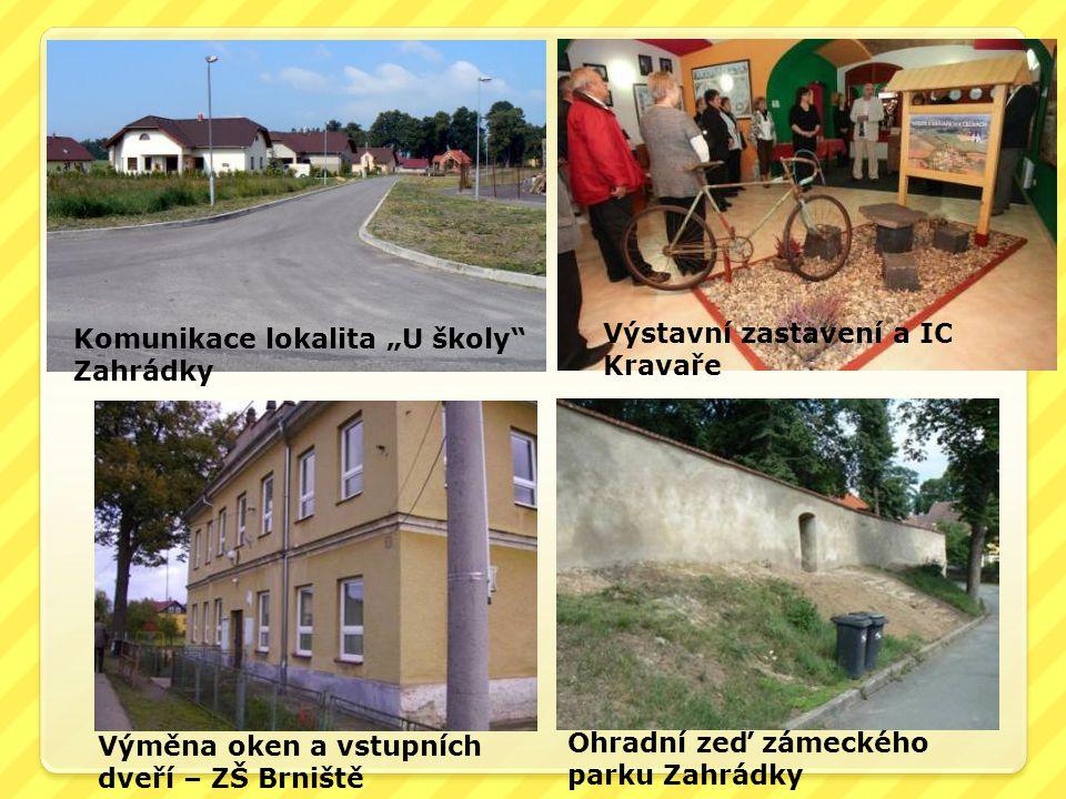 """Komunikace lokalita """"U školy Zahrádky"""