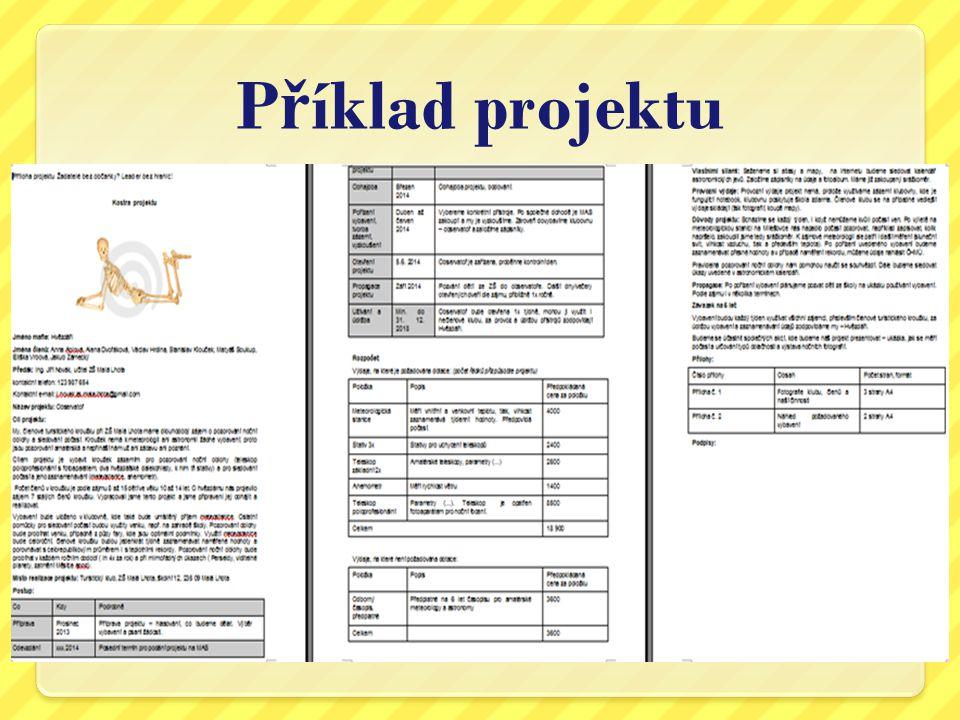 Příklad projektu