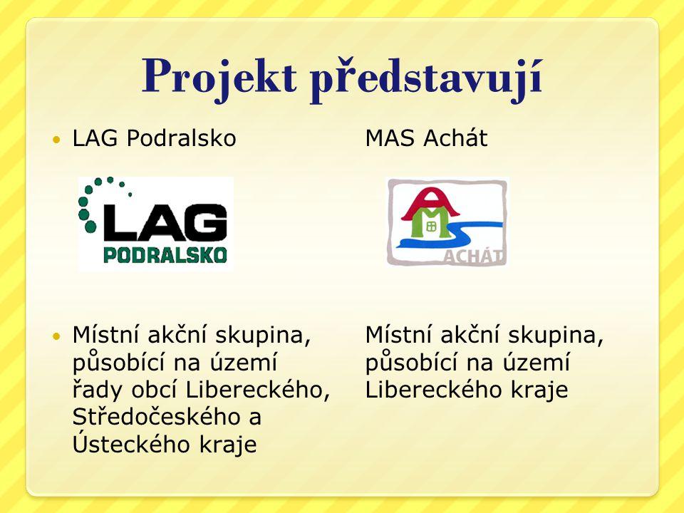 Projekt představují LAG Podralsko