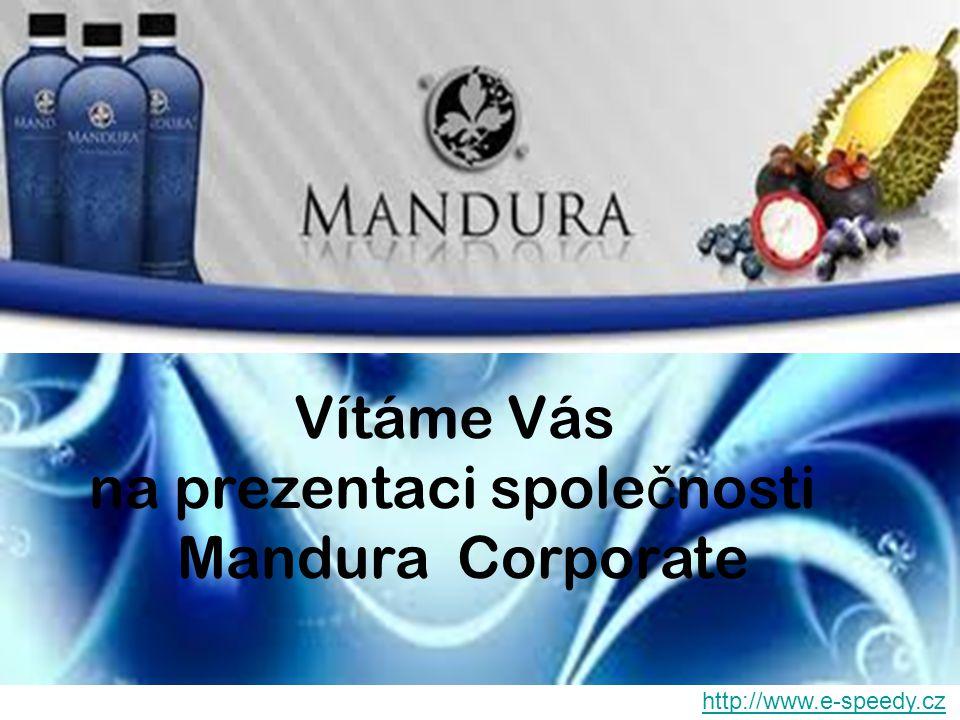 na prezentaci společnosti Mandura Corporate