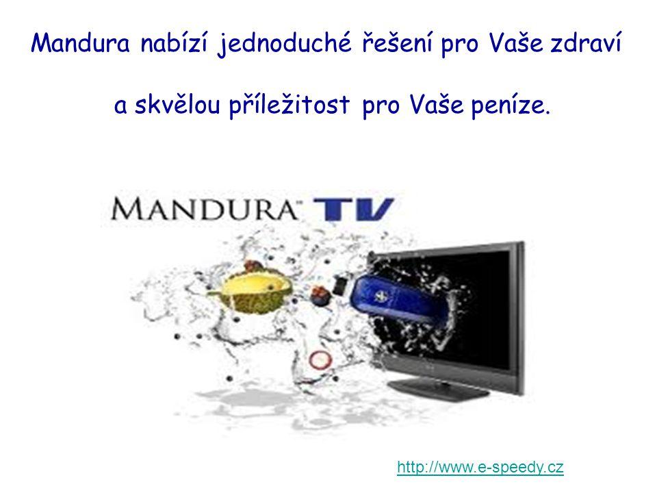 Mandura nabízí jednoduché řešení pro Vaše zdraví