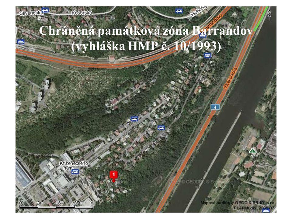 Chráněná památková zóna Barrandov (vyhláška HMP č. 10/1993)