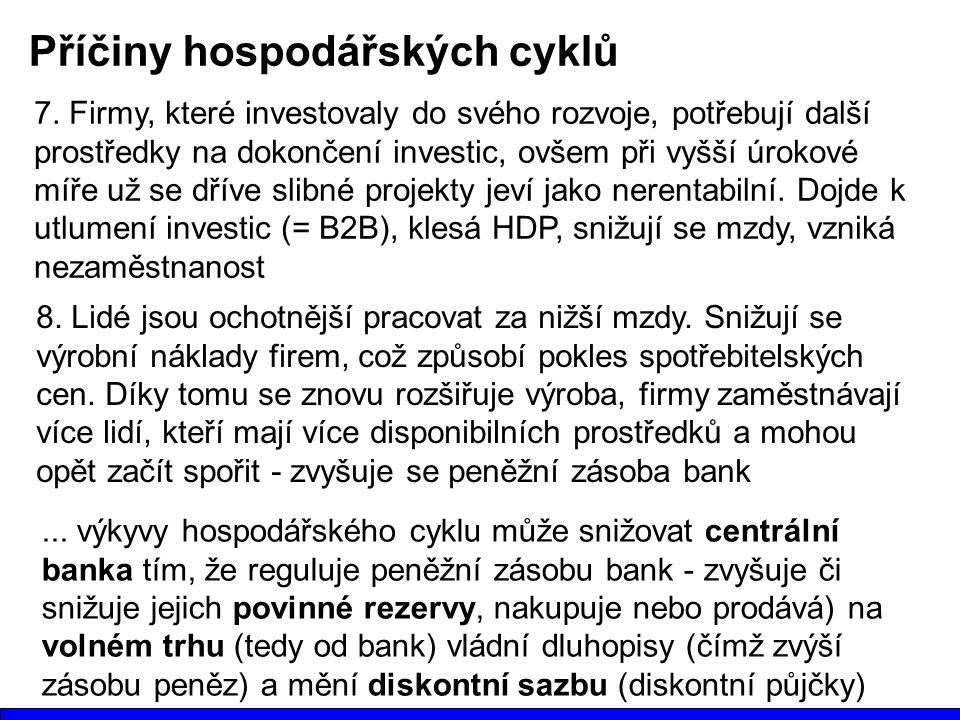 Příčiny hospodářských cyklů