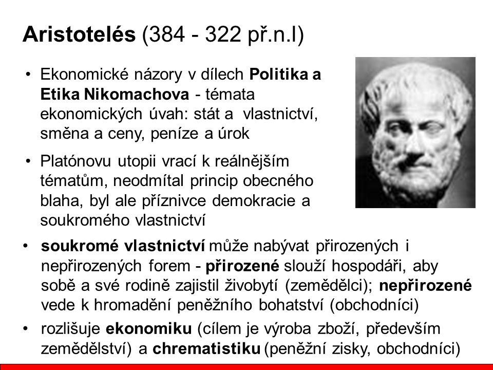 Aristotelés (384 - 322 př.n.l)
