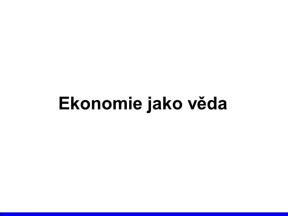Ekonomie jako věda