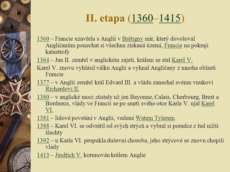II. etapa (1360–1415)