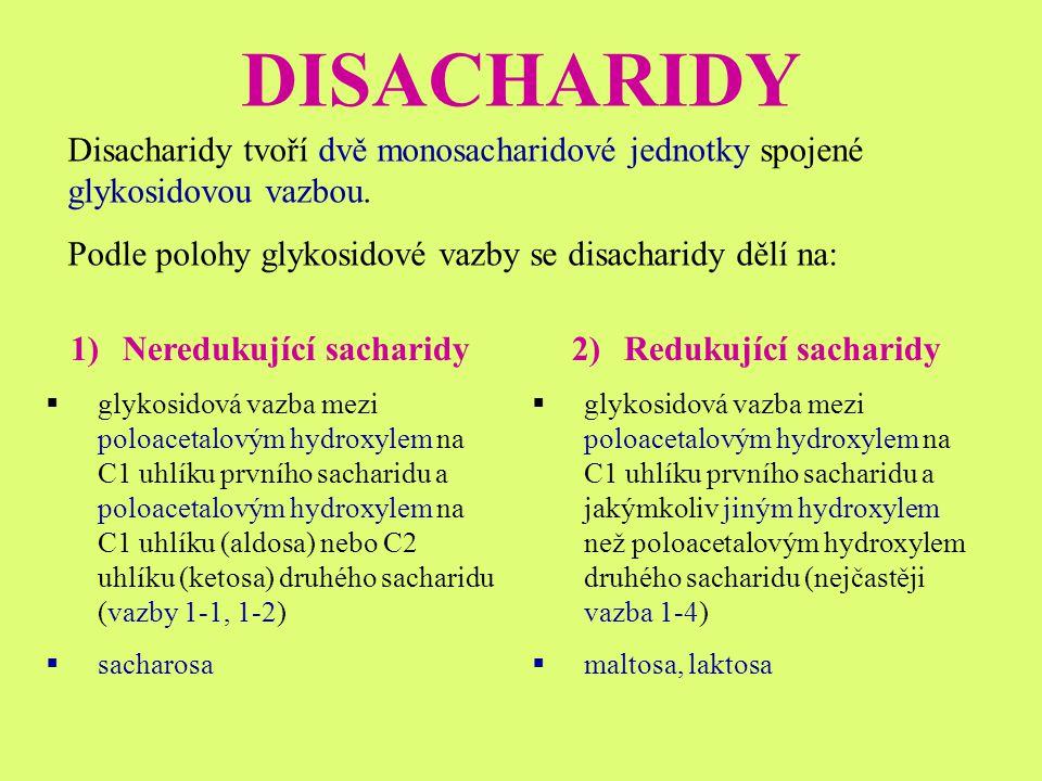 Neredukující sacharidy