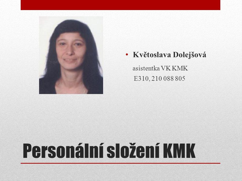 Personální složení KMK