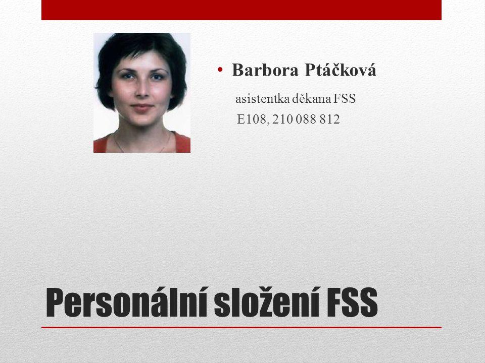 Personální složení FSS
