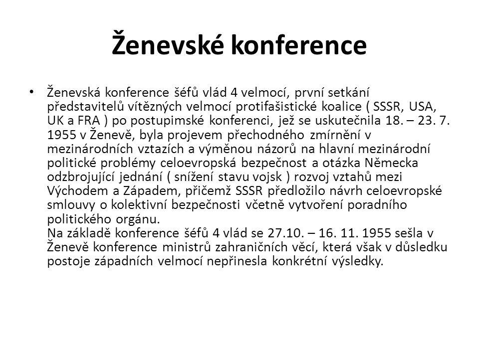 Ženevské konference
