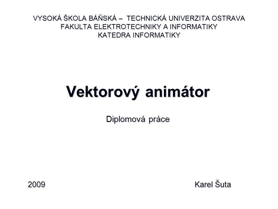 Vektorový animátor Diplomová práce