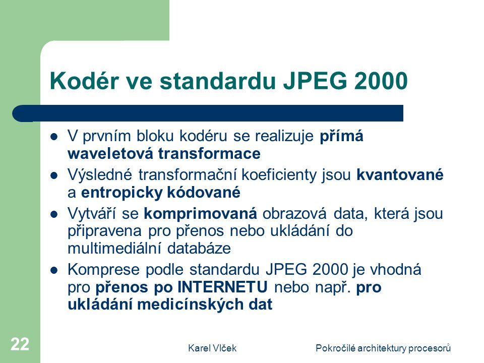 Kodér ve standardu JPEG 2000