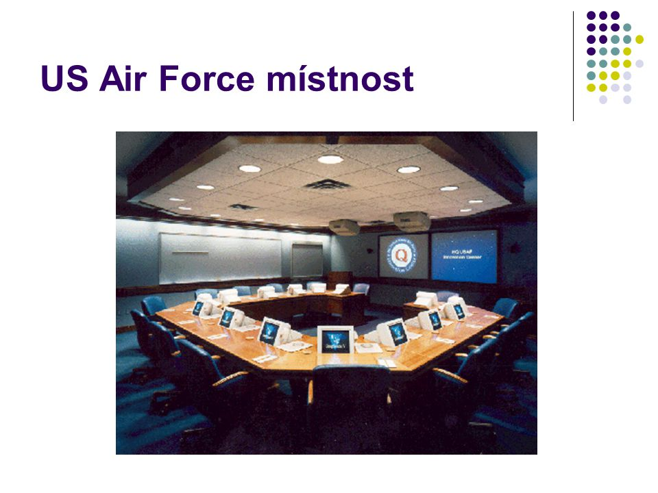 US Air Force místnost