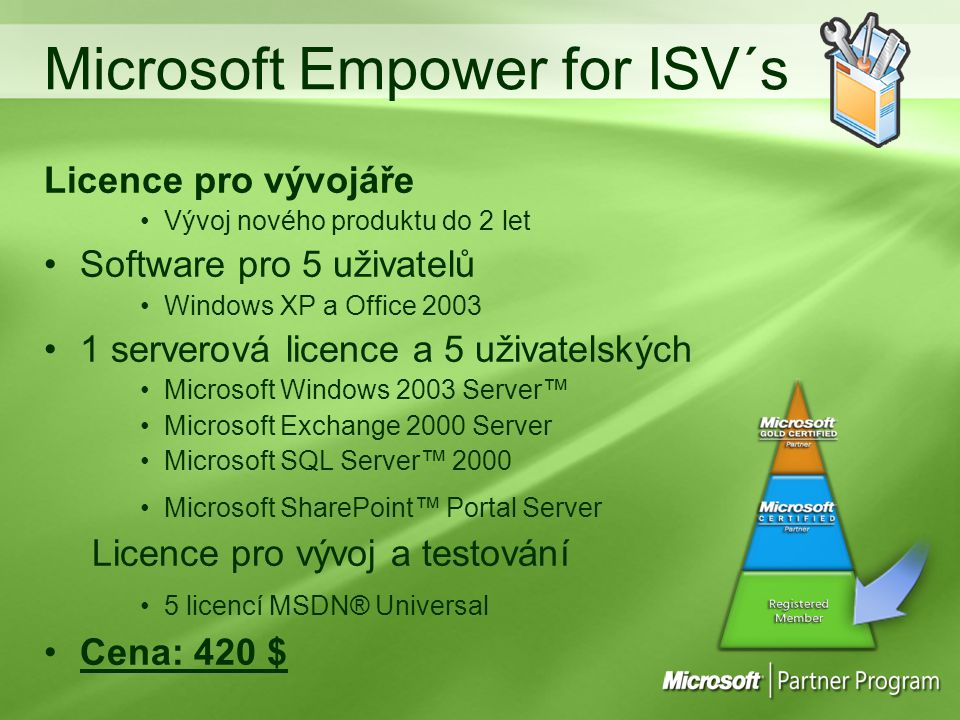 Microsoft Empower for ISV´s