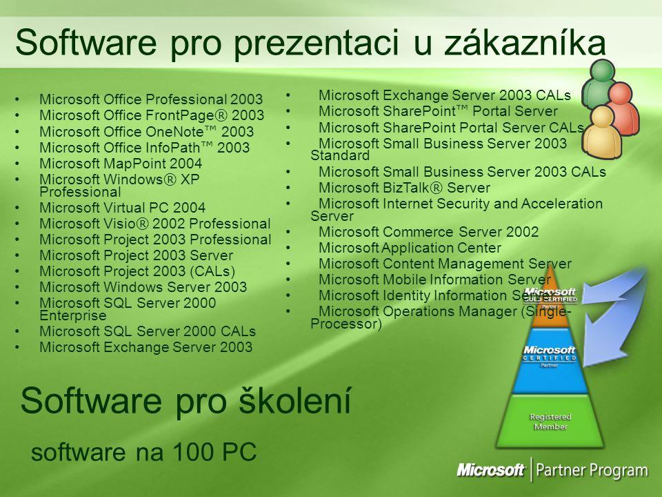 Software pro prezentaci u zákazníka
