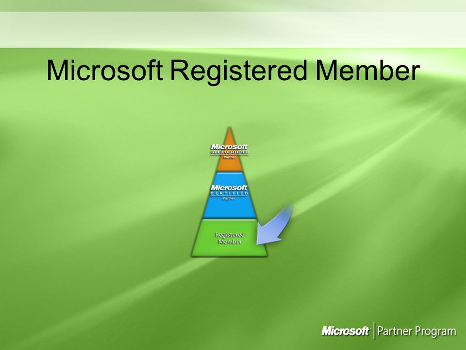 Microsoft Registered Member