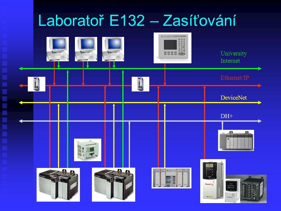 Laboratoř E132 – Zasíťování