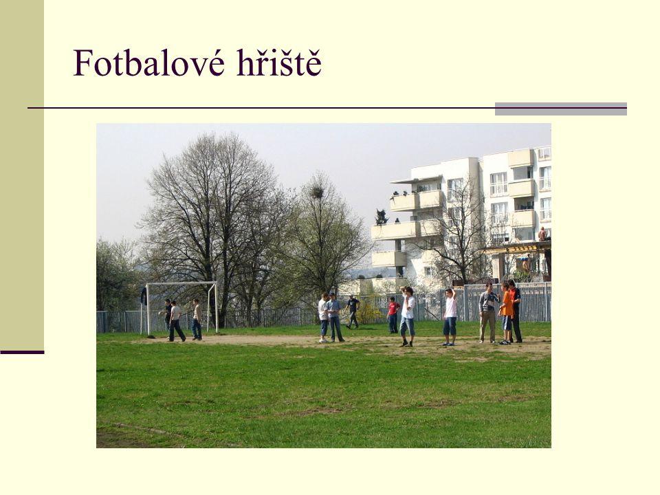 Fotbalové hřiště Představení areálu