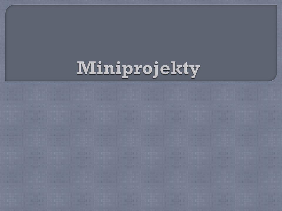 Miniprojekty