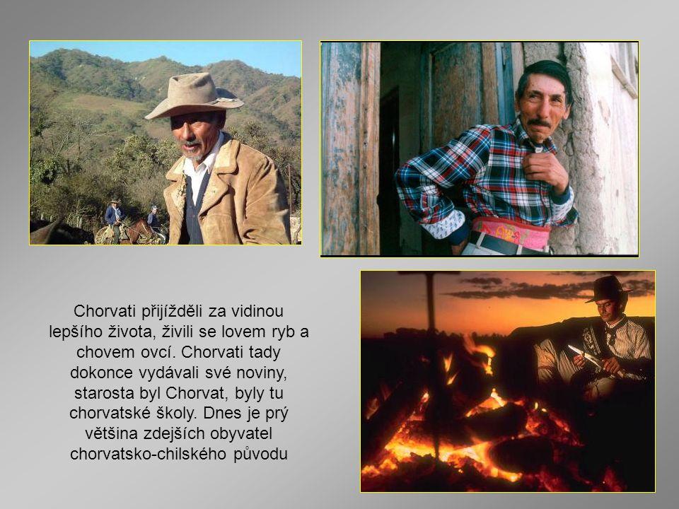 Chorvati přijížděli za vidinou lepšího života, živili se lovem ryb a chovem ovcí.