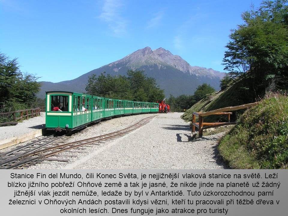 Stanice Fin del Mundo, čili Konec Světa, je nejjižnější vlaková stanice na světě.