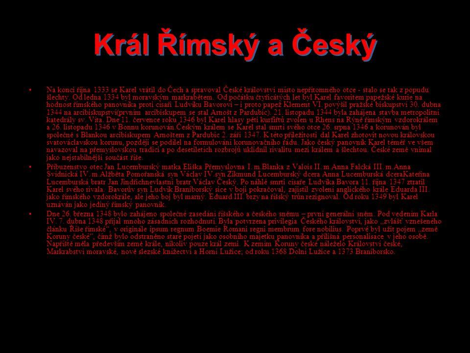 Král Římský a Český