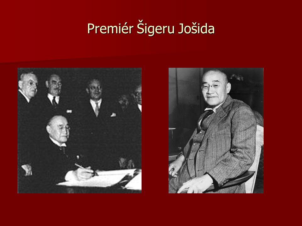 Premiér Šigeru Jošida