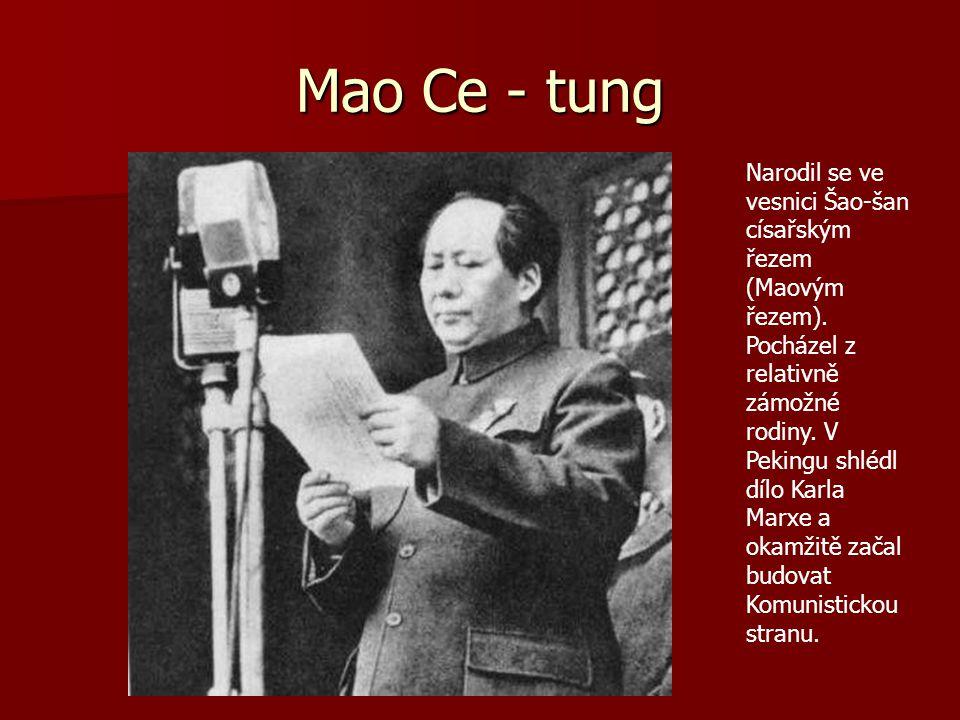 Mao Ce - tung