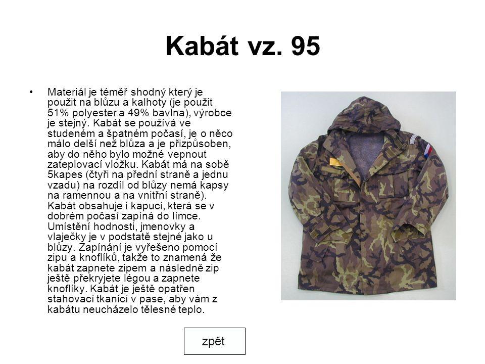 Kabát vz. 95