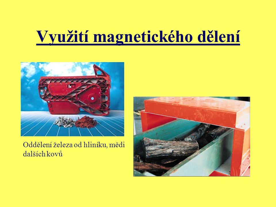 Využití magnetického dělení