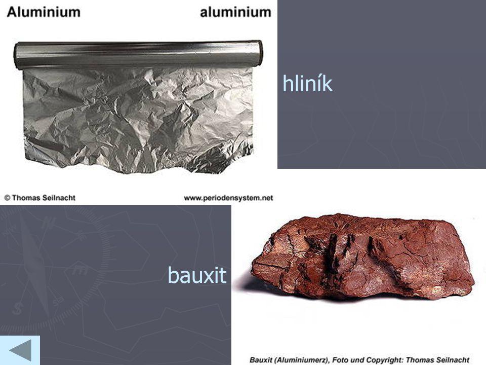 hliník bauxit