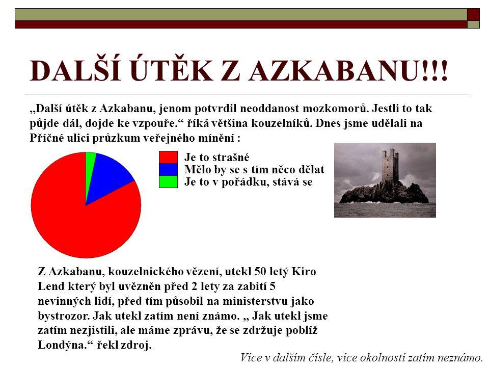 DALŠÍ ÚTĚK Z AZKABANU!!!