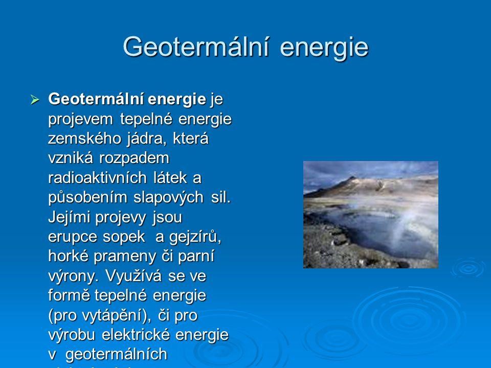 Geotermální energie