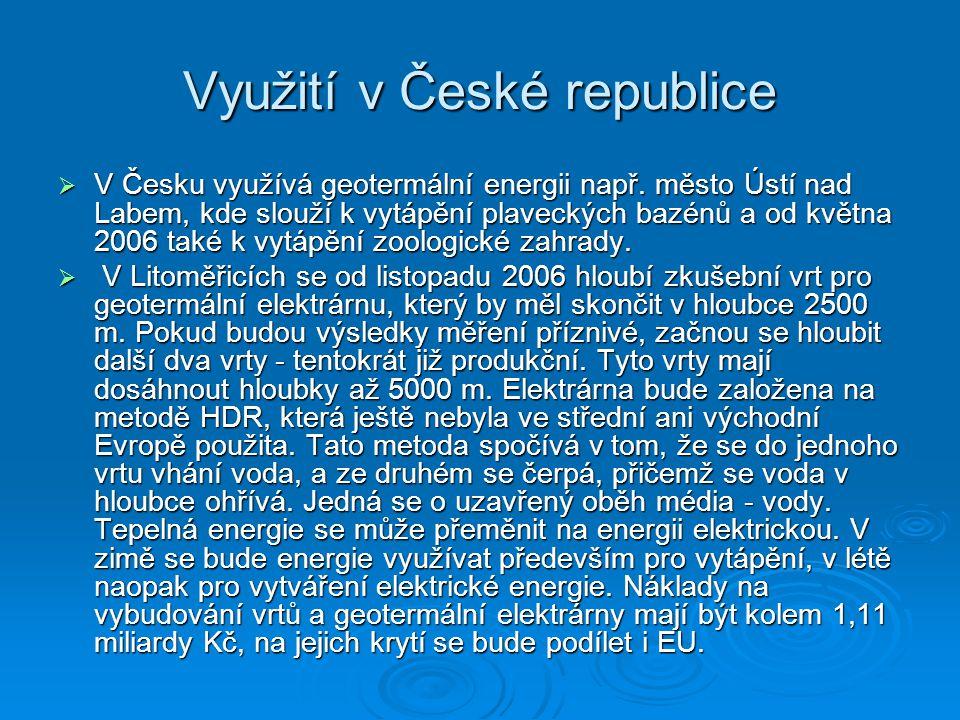 Využití v České republice