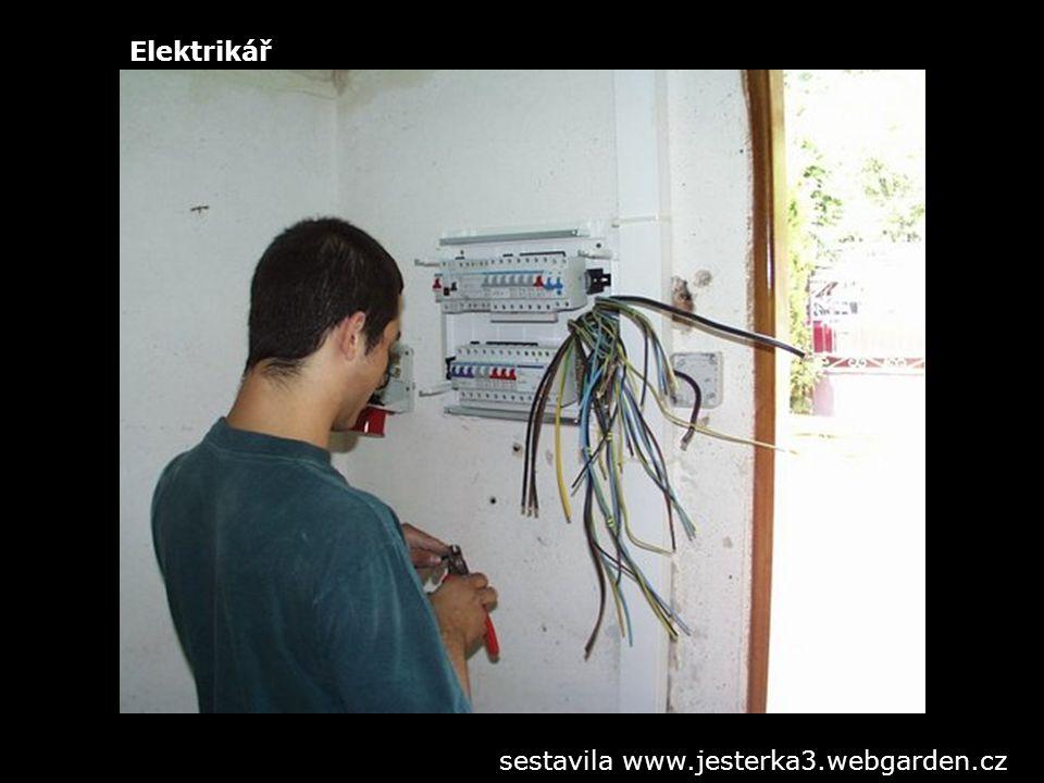 Elektrikář sestavila www.jesterka3.webgarden.cz