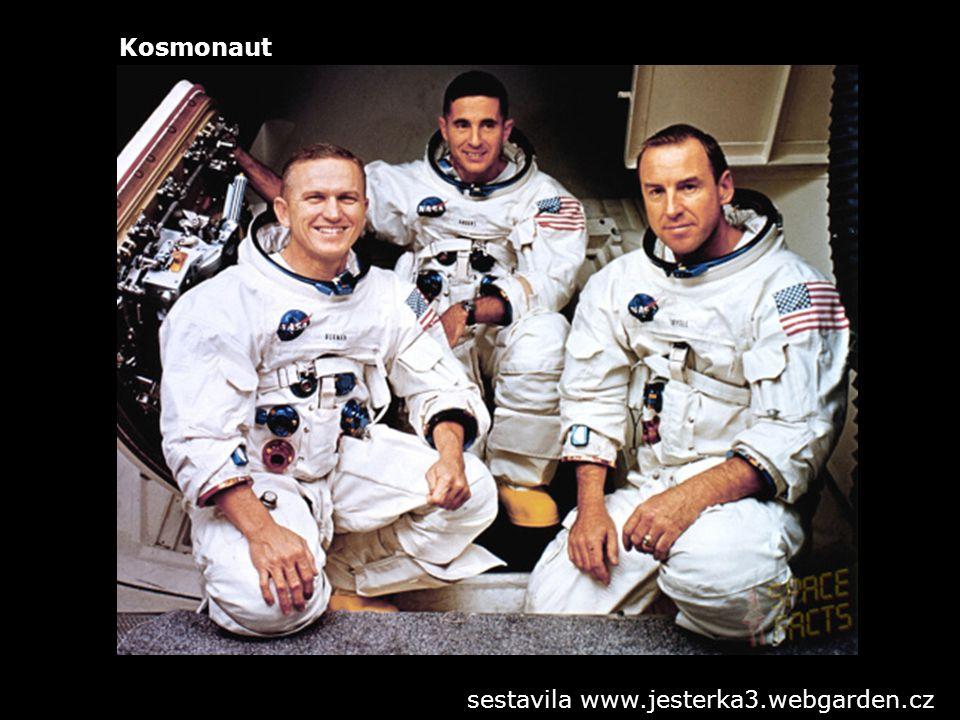 Kosmonaut sestavila www.jesterka3.webgarden.cz