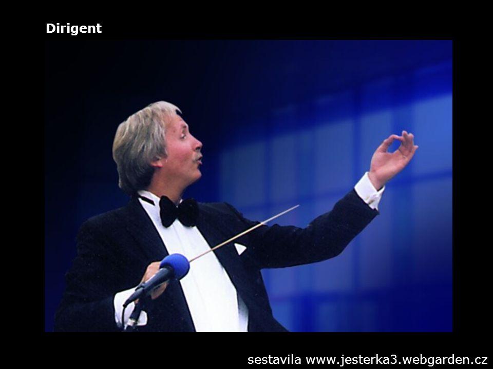 Dirigent sestavila www.jesterka3.webgarden.cz