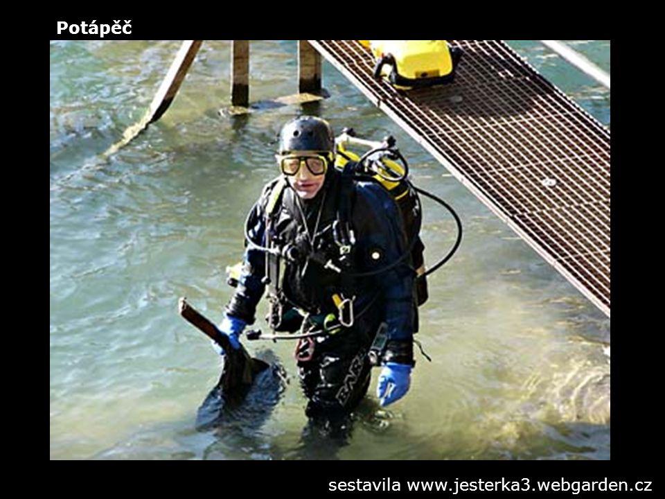Potápěč sestavila www.jesterka3.webgarden.cz