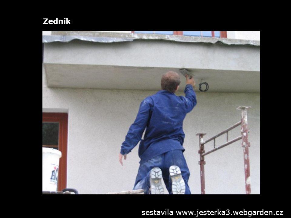 Zedník sestavila www.jesterka3.webgarden.cz