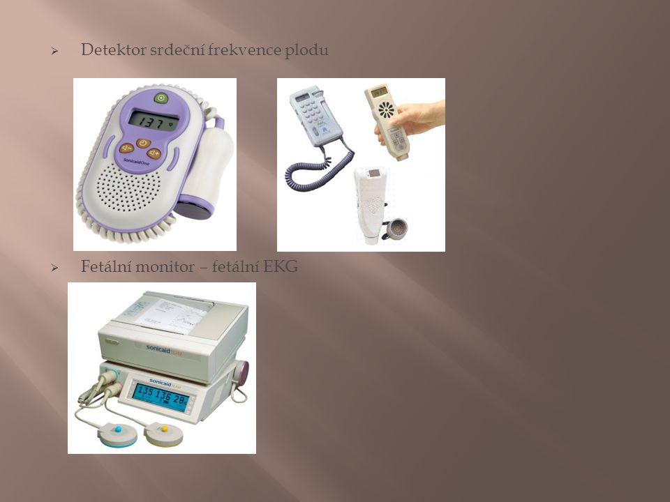 Detektor srdeční frekvence plodu