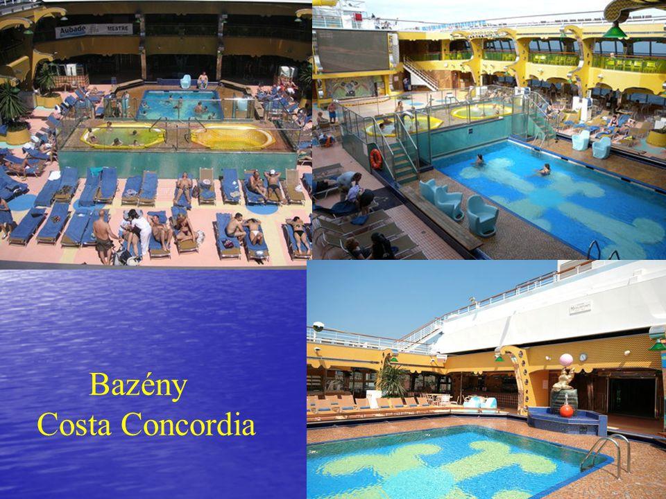 Bazény Costa Concordia