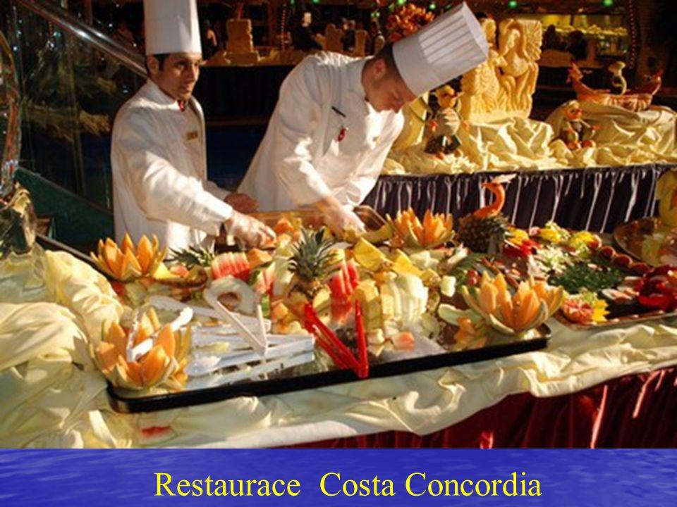 Restaurace Costa Concordia