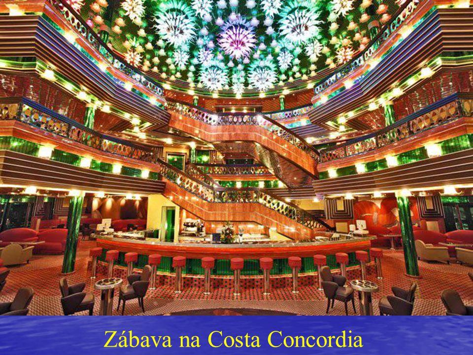 Zábava na Costa Concordia