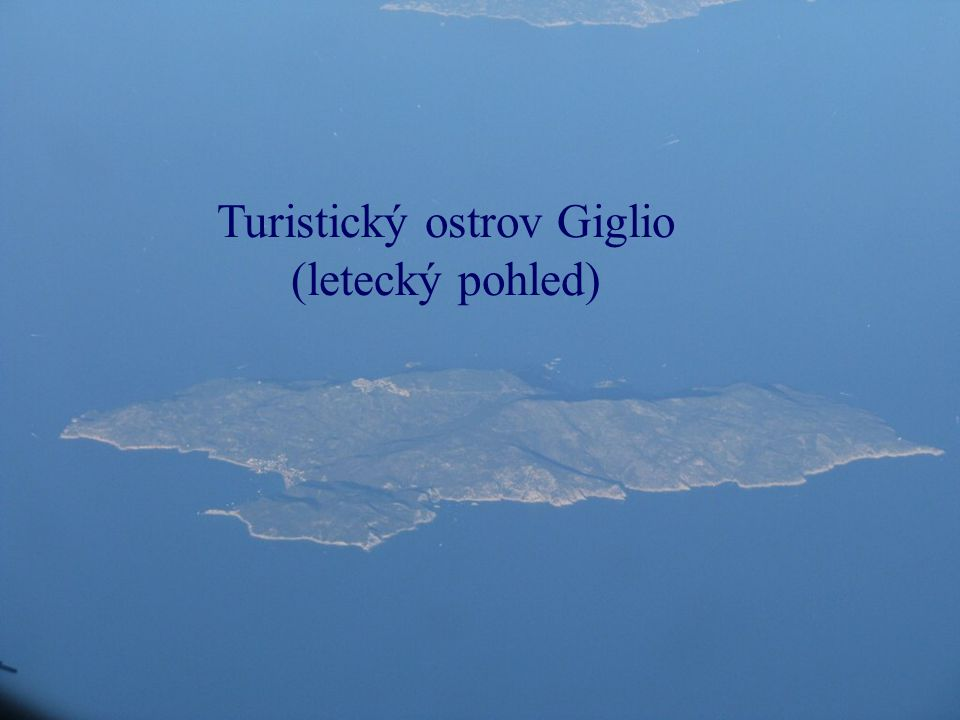 Turistický ostrov Giglio