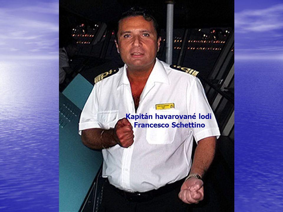 Kapitán havarované lodi