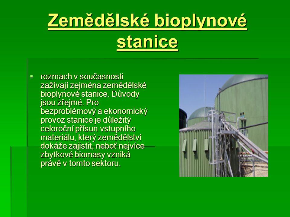 Zemědělské bioplynové stanice