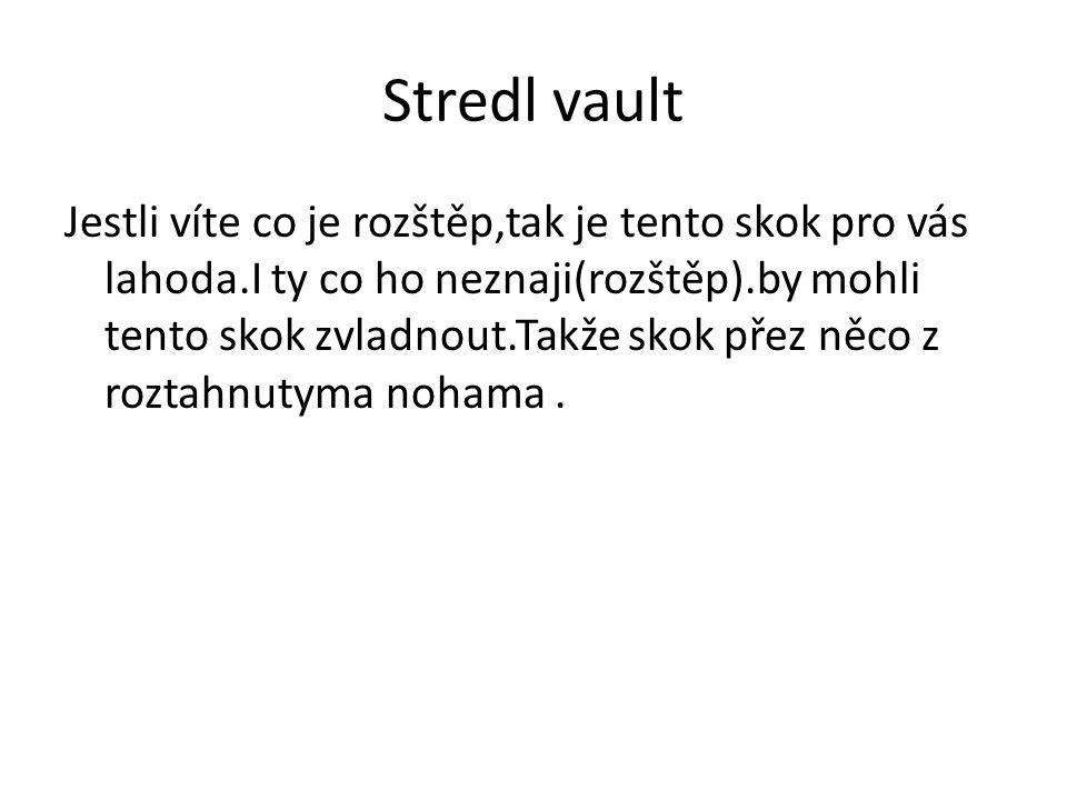 Stredl vault